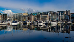 Project 366 - 30th April 2016 (Rich Walker75) Tags: uk england reflection water buildings reflections boats boat harbour plymouth devon suttonharbour britainsoceancity