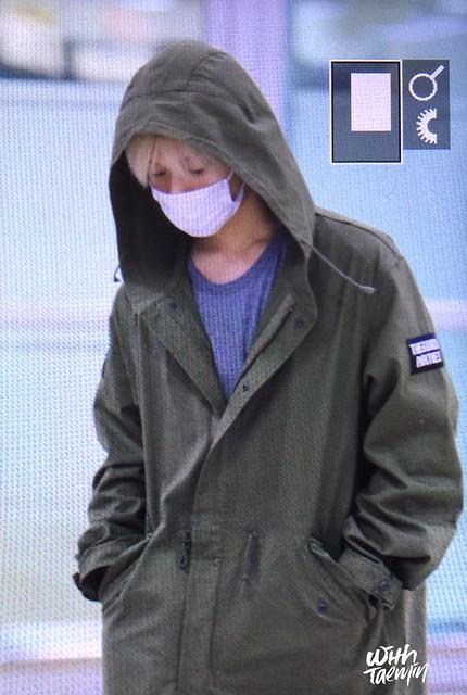 160427 Taemin @ Aeropuerto Gimpo {Llegada a Corea} 26125799614_f59f28834b_z