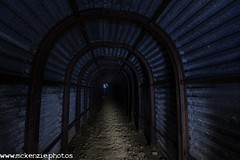 light beam (The Urban Adventure) Tags: dark underground kent nikon war buried military wwii tunnel ww2 dover lowepro torgoen hougham deepshelter d7200