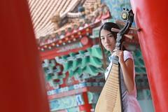 (BTM Photography TW) Tags: portrait people woman cute sexy girl beautiful beauty canon women pretty taiwan 70200    cheongsam     70d