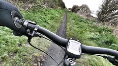 Let's try again... ( Explored ) (S Cansfield) Tags: blur mobile cycling movement phone exercise offroad mountainbike hobby explore smartphone cycle mtb garmin keepfit explored strava snapseed