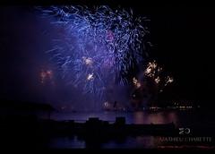 Fireworks (Mat Charette) Tags: old longexposure travel blue sunset sky lake flower reflection art nature fire nikon florida fireworks disneyland disneyworld d5000