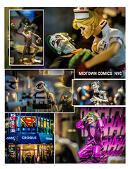 Midtown Comics Grand Central :) (Gordon McCallum) Tags: nyc newyork storefront batman stormtrooper collectables chewie lexingtonave supermanlogo thejoker sigmaartlens sonya6000 midtowncomicsnyc