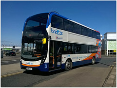 The New Order (Jason 87030) Tags: camera new holiday bus training kent shot seagull transport picture fave 400 views april driver breeze amateur bizarre stagecoach doubledecker enviro adl 2016 mml 15266 theneworder yn16wvf