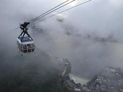 brasil - rio de janeiro - cable car (My instgram : TURKI9292) Tags: brazil car rio fog brasil riodejaneiro de janeiro cable cablecar