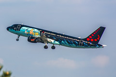 """[CDG] Brussels-Airlines and Moulinsart """" #SNRackham Livery """" Airbus A320-214 _ OO-SNB (thibou1) Tags: airplane nikon aircraft airbus tintin spotting a320 cdg herge rackham airbusa320 moulinsart lfpg a320214 d7100 brusselsairlines oosnb thierrybourgain snrackham"""
