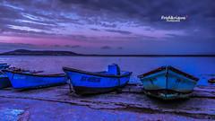 Lueurs du jour (Tra Te E Me (TTEM)) Tags: morning colors photoshop couleurs hdr tang aube thau photomatix bouzigues lumixfz1000