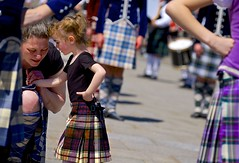The moments in between are moments worth treasuring (Jamie McCaffrey) Tags: ontario canada cute kilt fuji candid ottawa daughter mother streetphotography parliamenthill touching tartan motheranddaughter 2016 xt1 50140 sonsofscotland privateconversation nationaltartanday