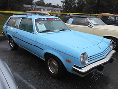1977 Chevy Vega Kammback (splattergraphics) Tags: wagon chevy 1977 vega carlisle carshow stationwagon carlislepa kammback fallcarlisle