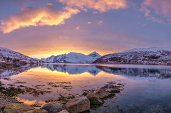 Kaldfjord (John A.Hemmingsen) Tags: sunset landscape fujifilm tromso