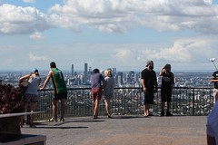 Brisbane, seen from Mt Coot-Tha (tanetahi) Tags: cityscape view australia brisbane lookout queensland belvedere urbanlandscape mountcoottha