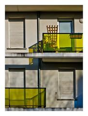 Crteil, nouveau quartier (4) (Marie Hacene) Tags: paris architecture crteil iledefrance fentre immeuble banlieue balcons