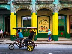 Havana. Cuba (H.L.Tam) Tags: street havana cuba documentary cuban iphone bicycletaxi habanavieja photodocumentary cubanbicycle iphone6s harbana