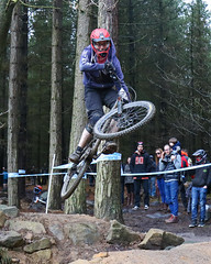 02 MTB SCDH 16 Apr 2016 (25) (Kate Mate 111) Tags: uk mountain bike forest cycling crash sheffield yorkshire steve competition racing downhill peat riding mtb mountainbiking grenoside