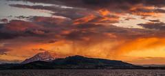 Afterglow (He_Da) Tags: sunset sun rain clouds schweiz switzerland sonnenuntergang wolken zug sonne regen zugersee lakezug