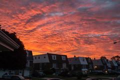 5:54 AM (PhillymanPete) Tags: morning sky philadelphia clouds sunrise us spring nikon unitedstates bright pennsylvania philly northeastphiladelphia torresdale d800e