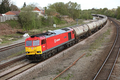 20150504_IMG_6024 (PowerPhoto.co.uk) Tags: train railway dbs freighttrain clitheroecastle class60 claycross 60024 dbschenker oiltrain 6m57
