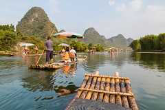 Yulong River (Bridgetony) Tags: china cruise spectacular asia southeastasia guilin yangshuo limestone karst touristattractions rafts guanxi