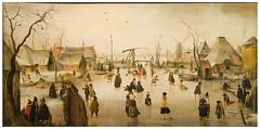 Mauritshuis (zcjaais) Tags: snow dutch painting schilderij denhaag peinture schaatsen hendrick patiner hendrickavercamp avercamp ecolehollandaise