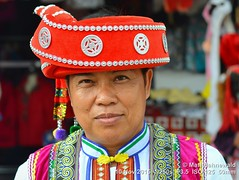 2015-11h Golden Triangle (01) (Matt Hahnewald) Tags: facingtheworld asia goldentriangle maesalong northernthailand adult tribal travel traveldestination tourism ethnic ethnicminority ethnology colour worldcultures ethnotourism eyecontact male nikond3100 saniyipeople saniyiman traditionalsaniyicostume headshot photography ©matthahnewaldphotography ethnicportrait oneperson 43aspectratio primelens asian humanface nikkorafs50mmf18g photo image horizontalformat portrait authentic colourful minority cultural character personality facialexpression realpeople human humanhead posing consent empathy rapport encounter incredible special environmentalportrait traditionalattire tradition tribe hilltribe hat tourist bokeh depthoffield humaneyes closeup street 50mmlens outdoor seveneighthsview