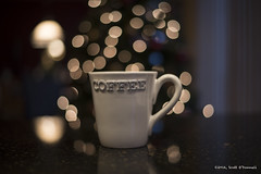 First Cup of the Day (scottnj) Tags: tree cup coffee makesmehappy bokeh drip perked firstcup cupofcoffee brewed 5366 365project tookapic bokehchristmastree scottnj cy365 scottodonnellphotography redditphotoproject