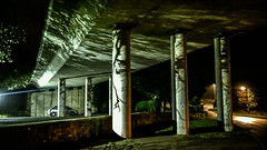 Cornwall_New_Year_2015_2016_2016_01_01_23_57_07 (James Hyndman) Tags: england underpass cornwall unitedkingdom newyear flyover penzance mooseheads moosehead a30 concretepillars westcornwall gulval b3311 newyear2016