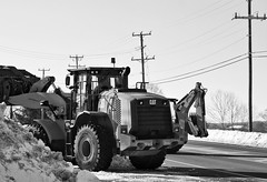 027/366 CAT (puckish) Tags: heavyequipment blizzard snowremoval day27366 366the2016edition 3662016 27jan16