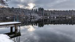 Winter is coming (Sebo23) Tags: schnee winter snow reflections reflektionen gttingen canon6d canon24704l