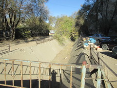 Water drain (bibitalin) Tags: kazakhstan kz aktobe  aktyubinsk aqtobe     aktubinsk aktiubinsk