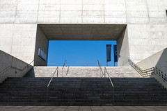 Centro Cultural Caja Granada - Steps (Micheo) Tags: photographer closer fotografo exposicin arquitecto albertocampobaeza josemariamellado centroculturalcajagranada
