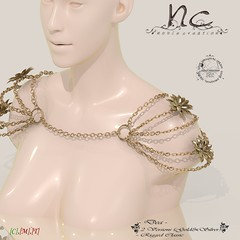 [NC] - Dea (niki8901 - andycool90 , HQ & 100%Mesh Low Land Imp) Tags: gold nc medieval sl fantasy secondlife blender accessories slave jewerly tfc accessory goddes gor gorean thefantasycollective noblecreations niki8901 andycool90