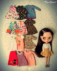 Polly shows off her favorite dresses :-)