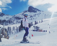 ice paradise (Diana Knjazeva) Tags: winter snow france mountains alps french skiing spirit cam iphone vsco