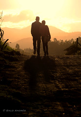 Love + Sunset (Galo Andrés) Tags: