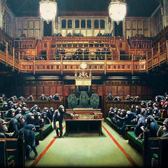 The Parliament (jaci XIII) Tags: painting hall parliament sala government monkeys apes pintura macacos parlamento governo smios