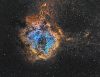 The Rosette Nebula: The Star cradle.
