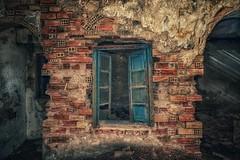 Ruine... (hobbit68) Tags: old canon outdoor alt sommer urlaub haus andalucia ruine espana sonne dach industrie gebäude spanien dächer