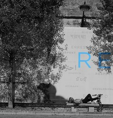 RE-Plenish RE-Cycle RE-Lax (Grooover) Tags: paris france seine river relax rest sunbathe grooover