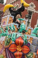Gone Bananas (Bejeweled) Tags: costumes colors beads colorful parades bananas masks nola mardigras floats