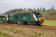 43187 British Railways / Paxman Class 43 HST, Great Western Railway, Newton Meadows, Bath, Somerset (Kev Slade Too) Tags: hst paxman britishrailways greatwesternrailway class43 43188 43187 specialmarks 1a20