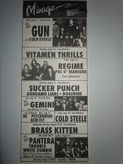 08/12 - 23/92 Mirage, Minneapolis, MN (NYCDreamin) Tags: gun trouble mirage gemini pantera whitezombie minneapolismn brasskitten 081292 082392