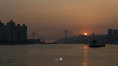 _DSC1105_169_LOGO (Ray 'Wolverine' Li) Tags: city sunset sea sun nature hongkong pier asia nightscene nightview