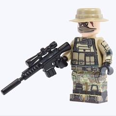 American Recon (X39BrickCustoms .com) Tags: lego uv american legos sniper custom printed recon m110 brickarms clonetrooperx39 x39brickcustoms