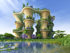 Hyperions by Vincent Callebaut Architectures