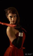 Lussuria (Alberto Panizzolo) Tags: red black dress alberto bracelet marta capitale mestre luxury vizio progetto lussuria panizzolo