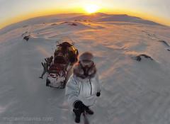 My Backyard (MichaelHD ( michaelhdavies.com )) Tags: portrait snow cold reflection ice face fur glasses goggles nikkor nunavut parka fozen baffinisland frostbite canadasarctic nikond300 michaelhdavies