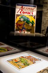 Superman - Action Comics 1938 (Dan's Daily Photo) Tags: book comic lego exhibition superman hero superhero dccomics powerhousemuseum nathansawaya theartofthebrick dansdailyphoto