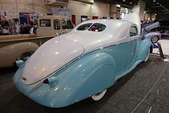 1937 Lincoln Zephyr (bballchico) Tags: zephyr lincoln custom 1937 grandnationalroadstershow caribbeanqueen donlong gnrs2016
