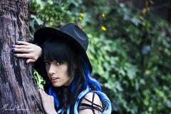 Model: HIYA (Whereismymind182) Tags: blue girl witch wonderlust alternativegirl