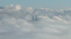 Skyscraper (LuMi_67) Tags: fog vancouver skyscraper britishcolumbia highrise inversion clous